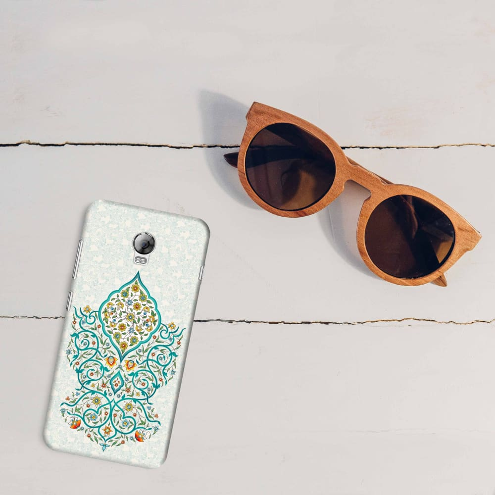 Floral Enchantment Slim Case For Lenovo Vibe P1