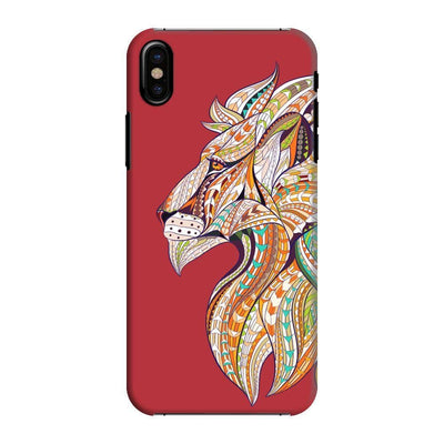 For The Bravehearts Slim Case And Cover Iphone Xs - Red