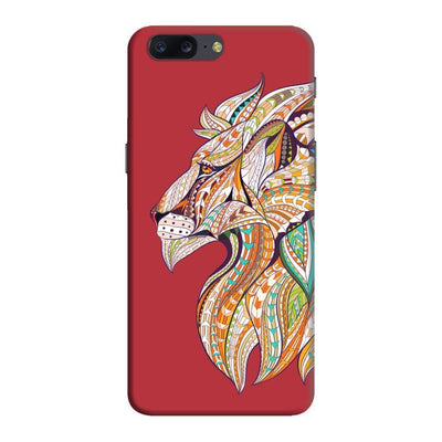 For The Bravehearts Slim Case And Cover Oneplus Five - Red