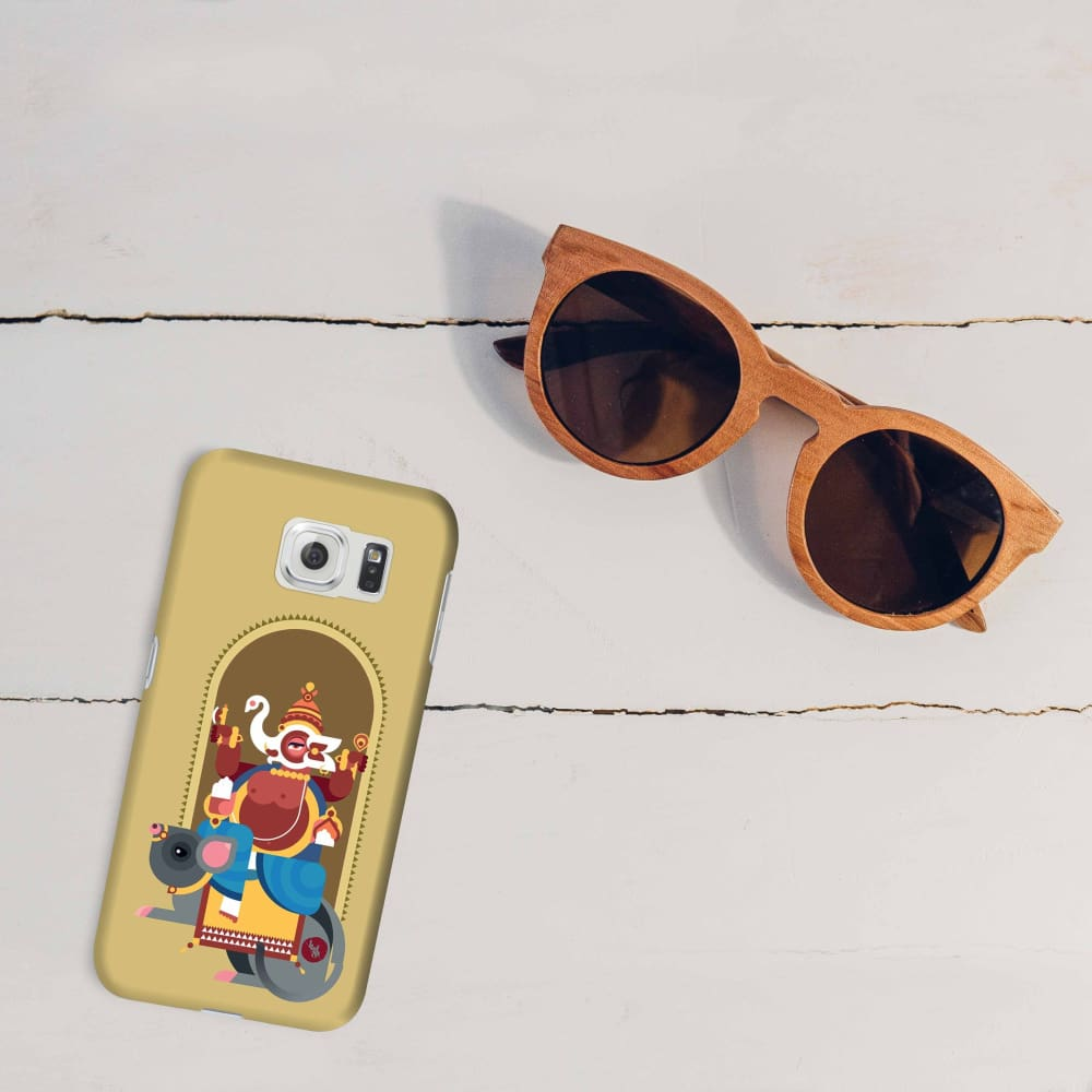 GANESHA-THE ONE WHO REMOVES HURDLES Slim Case And Cover For GALAXY S6