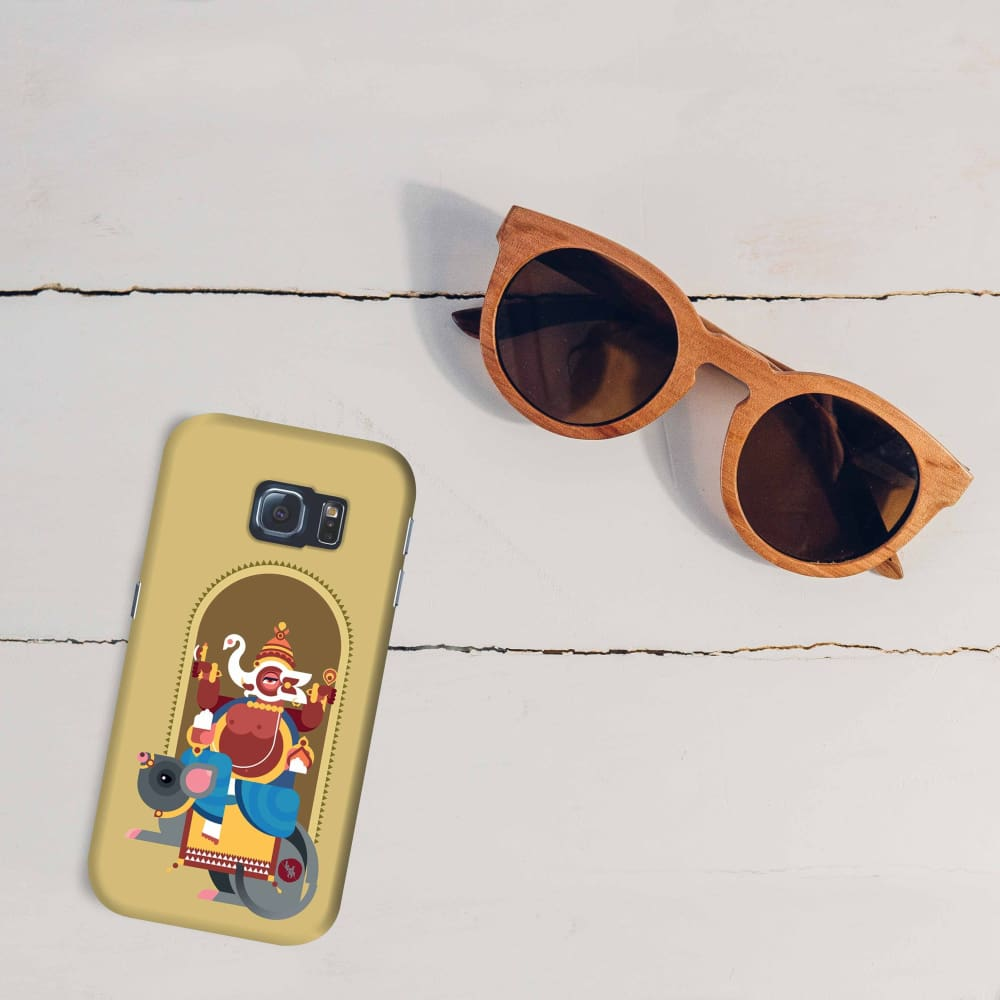 GANESHA-THE ONE WHO REMOVES HURDLES Slim Case And Cover For GALAXY S6 EDGE