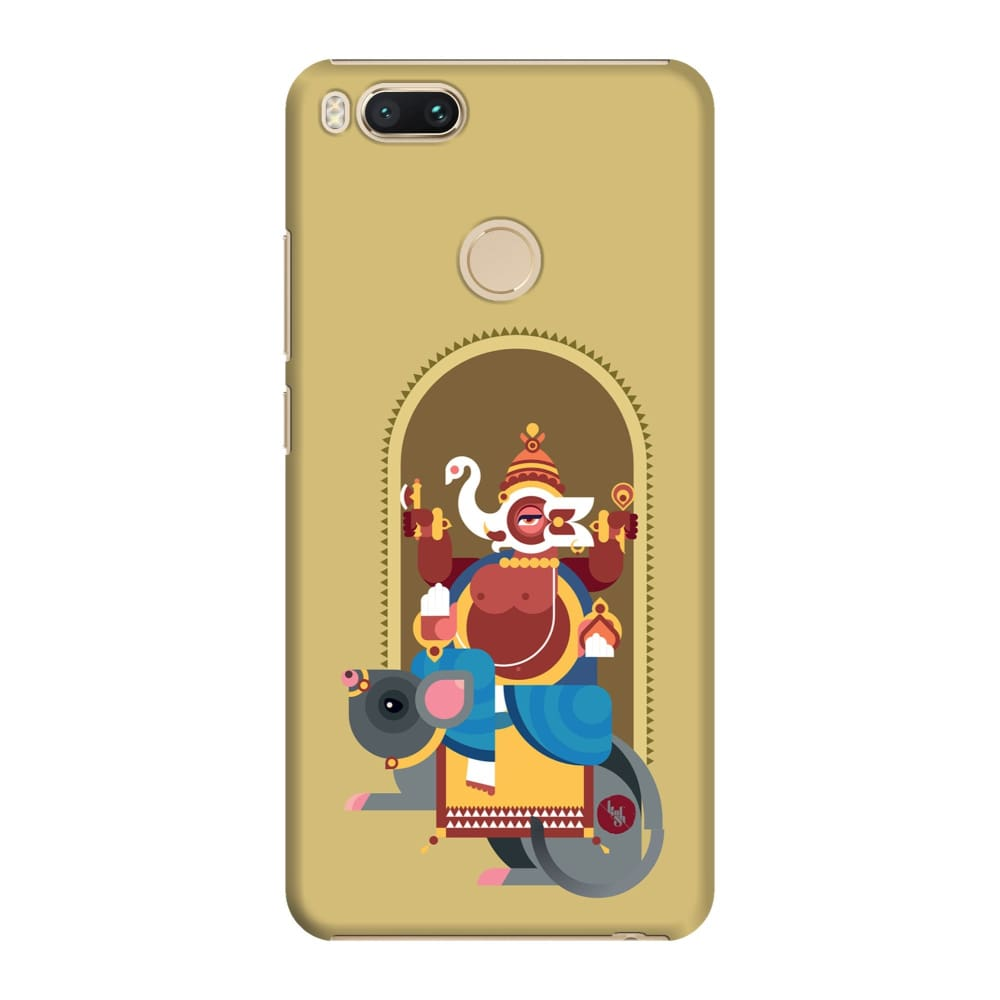 GANESHA-THE ONE WHO REMOVES HURDLES Slim Case And Cover For REDMI MI A1