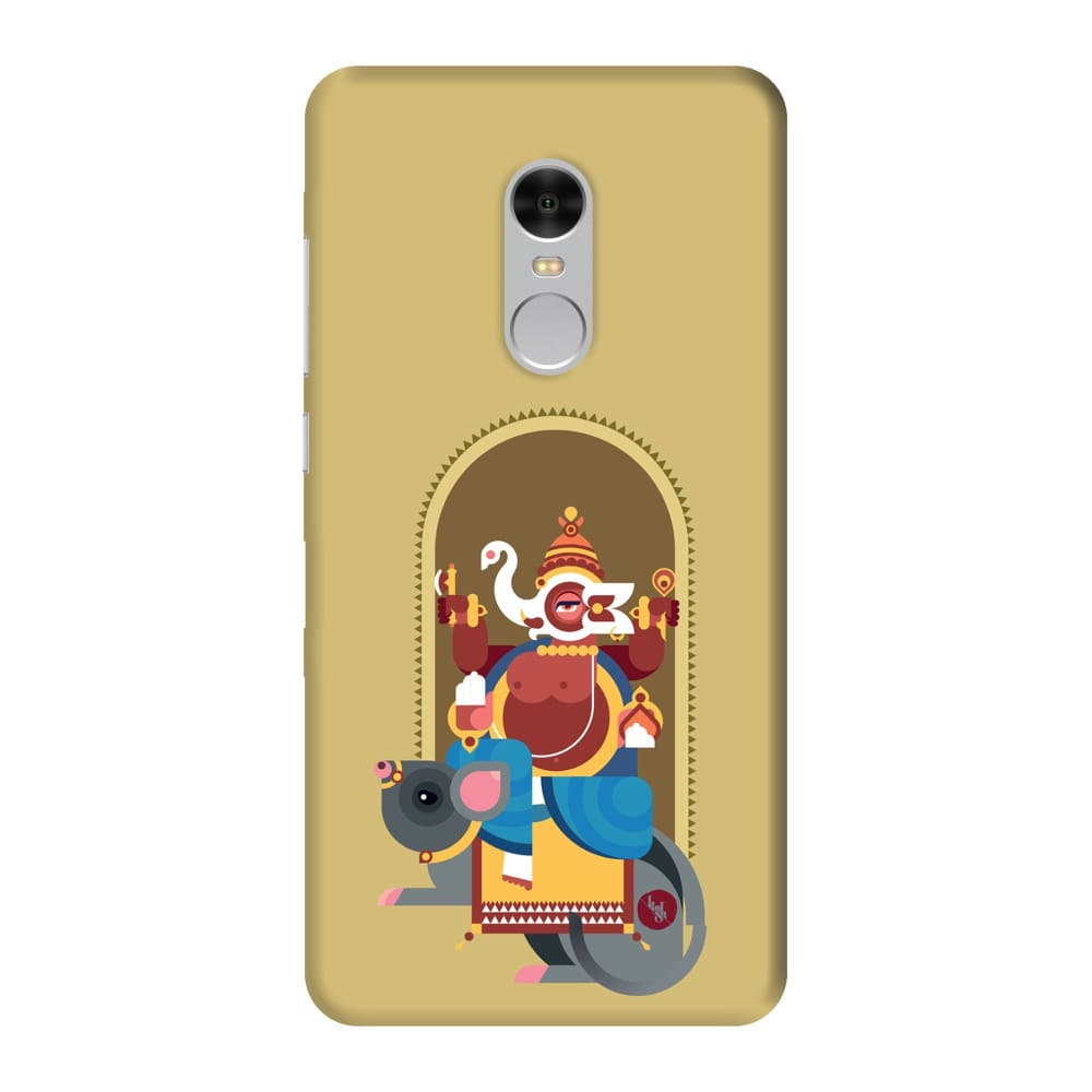 GANESHA-THE ONE WHO REMOVES HURDLES Slim Case And Cover For REDMI NOTE 4