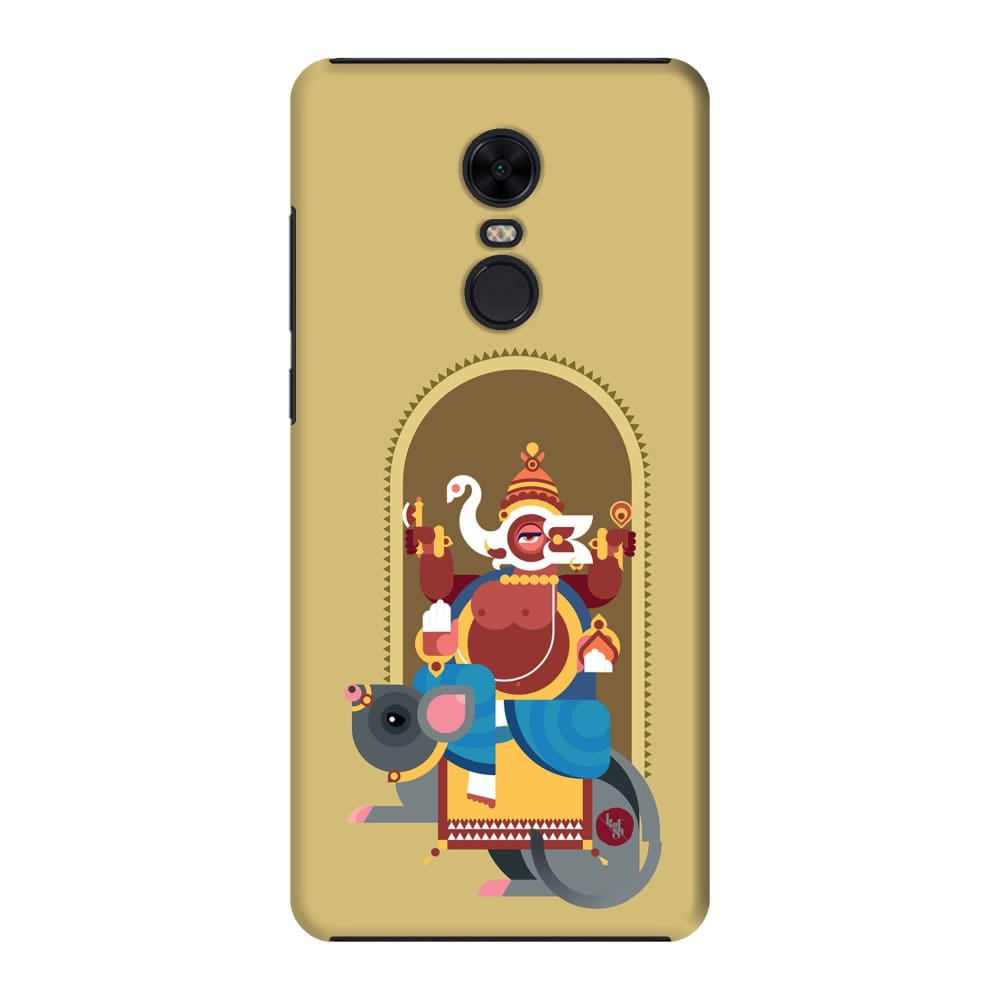 GANESHA-THE ONE WHO REMOVES HURDLES Slim Case And Cover For REDMI NOTE 5