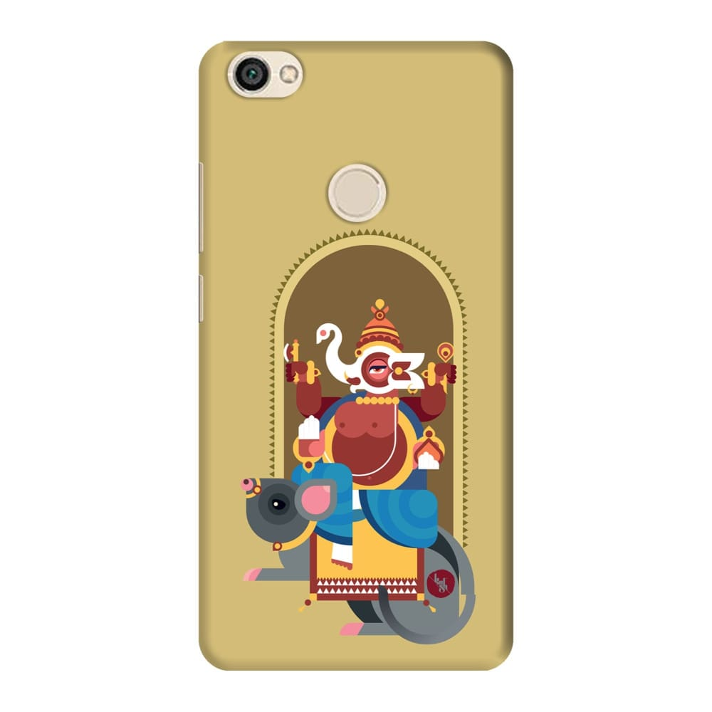 GANESHA-THE ONE WHO REMOVES HURDLES Slim Case And Cover For REDMI Y1