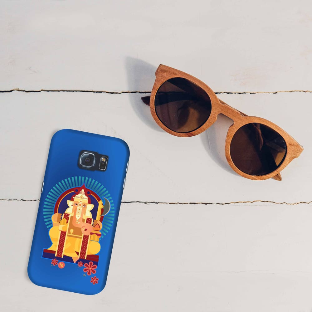 GANPATI-THE ONE WHO IS BELOVED Slim Case And Cover For GALAXY S6 EDGE
