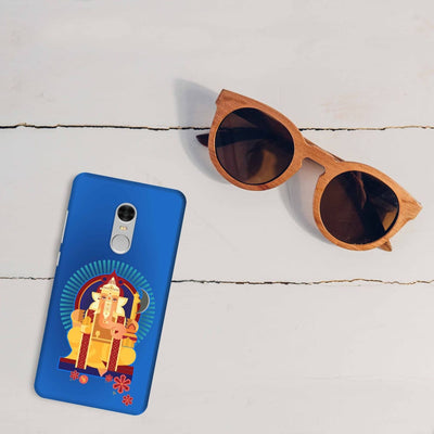 GANPATI-THE ONE WHO IS BELOVED Slim Case And Cover For REDMI NOTE 4