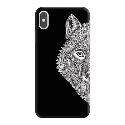 Guided By The Wolf Designer Slim Case And Cover For iPhone XS Max