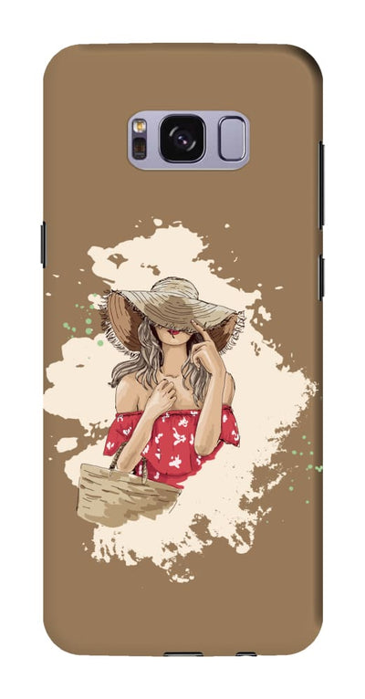 Hello Summer! Slim Case And Cover For Galaxy S8