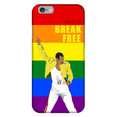 I Want To Break Free Slim Case And Cover For Iphone 6