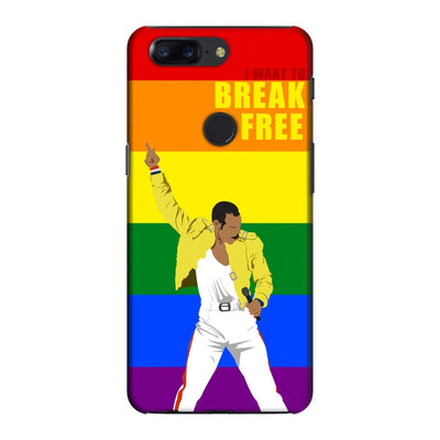 I Want To Break Free Slim Case And Cover For Oneplus 5T