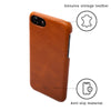 Geometric Lion iPhone 7 Leather Cases