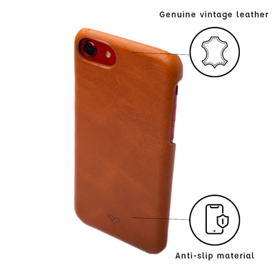 Square Monogram iPhone 8 Leather Cases