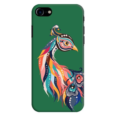Incredible Colors Of The Peacock Slim Case And Cover For Iphone 7 - Green