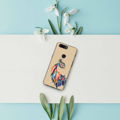 Incredible Colors Of The Peacock Slim Case And Cover For Oneplus 5T
