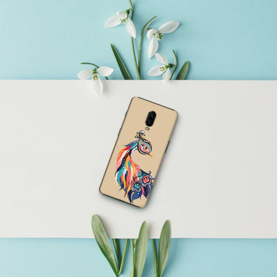 Incredible Colors Of The Peacock Slim Case And Cover For Oneplus 6T
