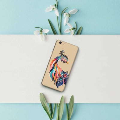 Incredible Colors Of The Peacock Slim Case And Cover For Oppo F3