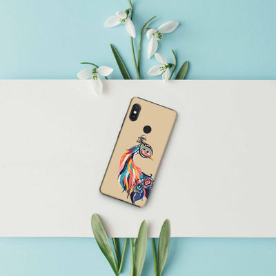 Incredible Colors Of The Peacock Slim Case And Cover For Redmi Note 5 Pro