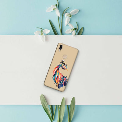 Incredible Colors Of The Peacock Slim Case And Cover For Vivo V9