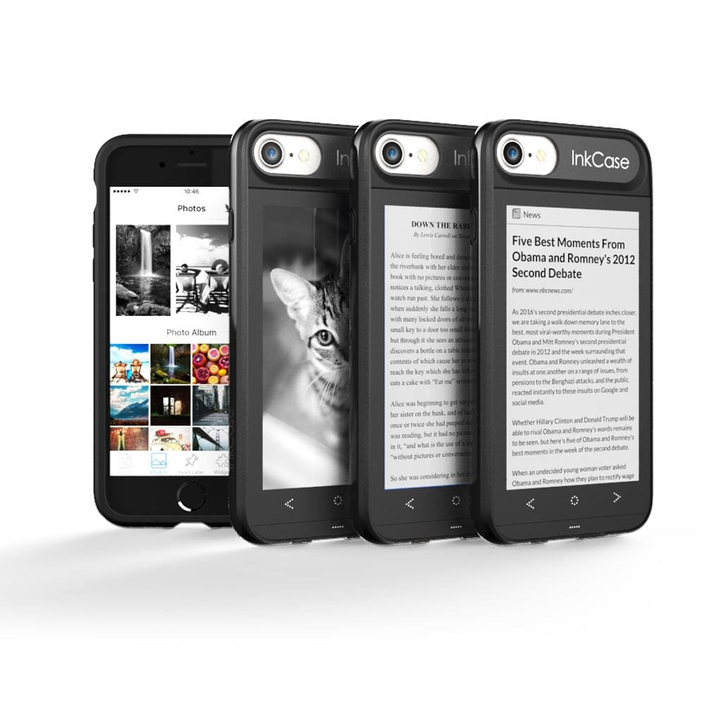 InkCase i7 - make your iPhone your Kindle