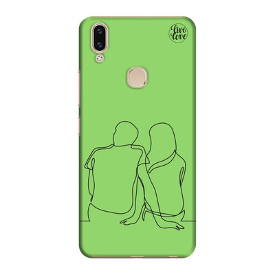 Just You & I Slim Case And Cover For Vivo V9