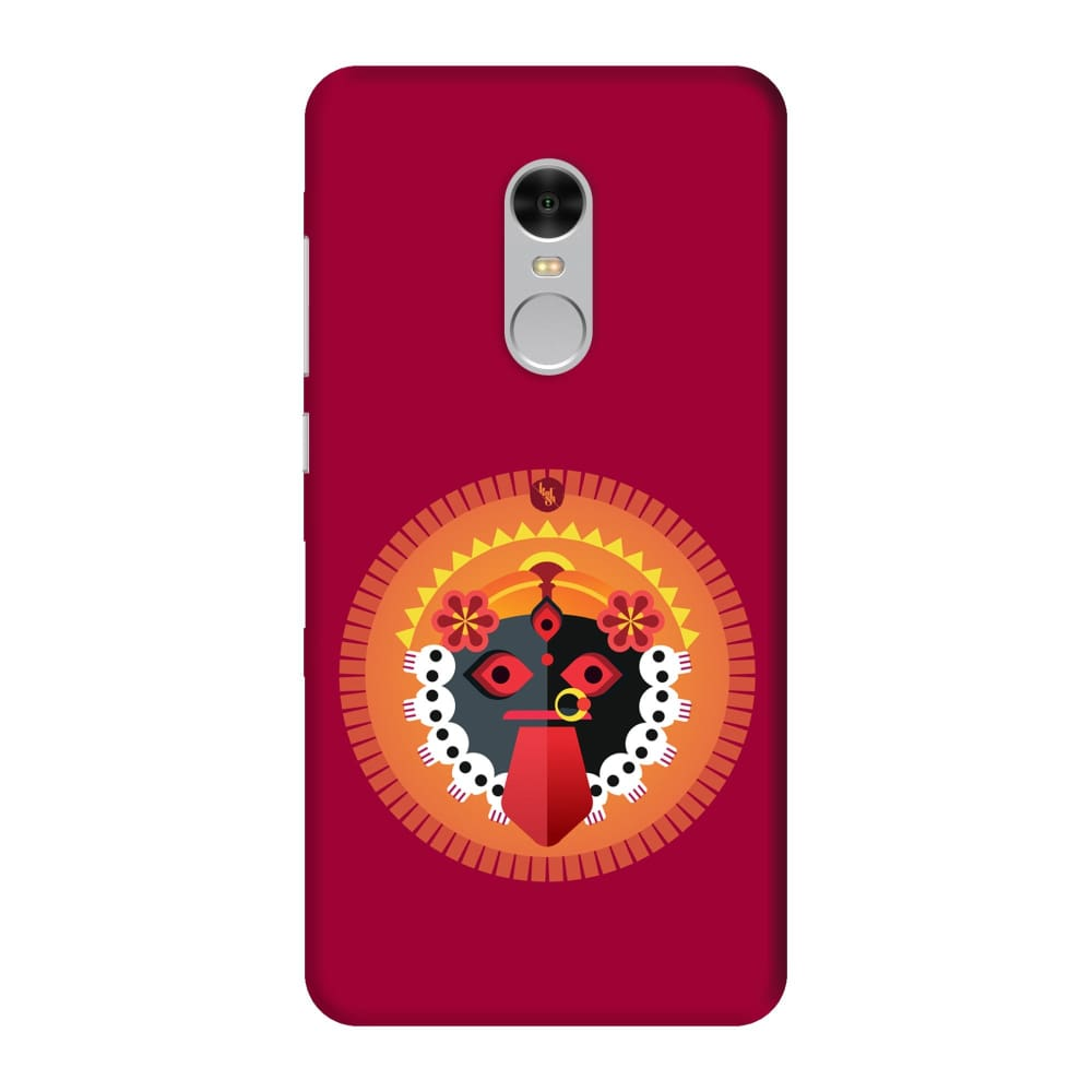 KALI-THE ONE WHO EMPOWERS Slim Case And Cover For REDMI NOTE 4