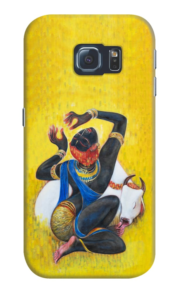 KRISHNA-YOUR ETERNAL COMPANION Slim Case And Cover For GALAXY S6 Edge