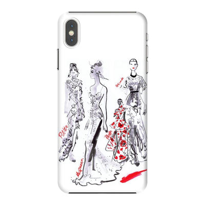 LA FASHION WEEK 2016 Slim Case And Cover For IPHONE XS MAX