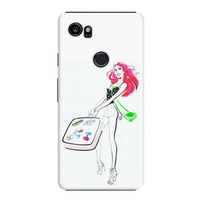 La Girl Slim Case For Pixel 2 Xl