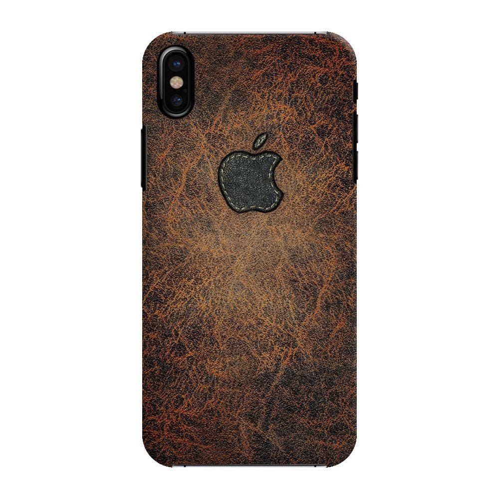 Leather Print Slim Case And Cover For Iphone X