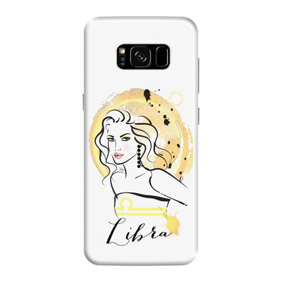 Libra by Martina Pavlova Slim Case For Galaxy S8 Plus