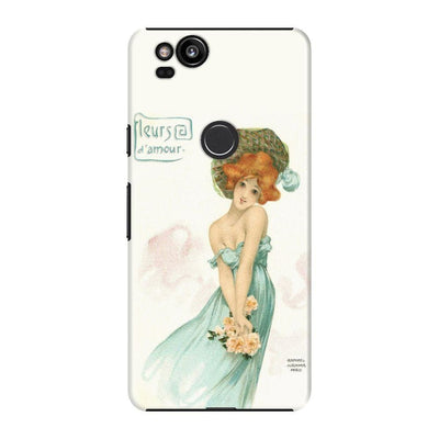 LOVE FLOWERS POSTCARD SERIES 1903 Slim Case For Pixel 2
