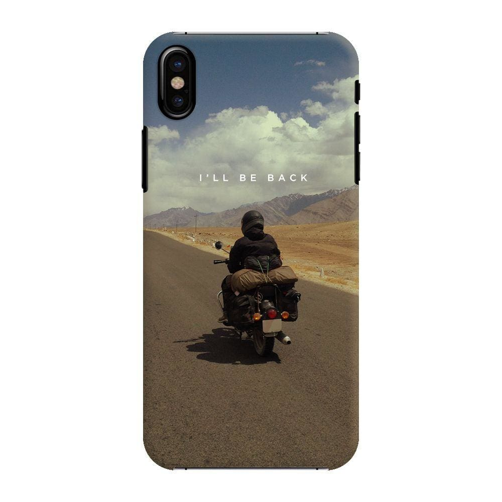 Love For Riding Slim Case And Cover For iPhone X