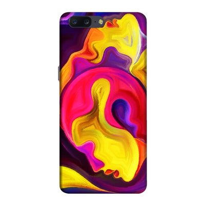 Love Is Seamless Vibrant Slim Case And Cover For Oneplus Five