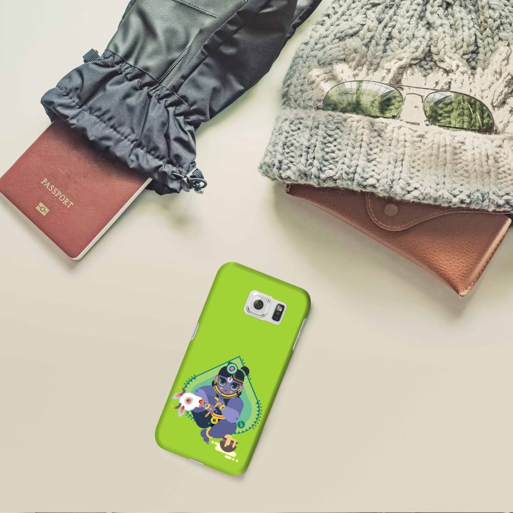 MAKHANCHOR-THE ONE WHO CHARMS Slim Case And Cover For GALAXY S6