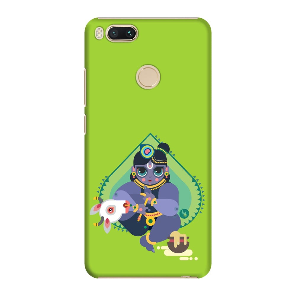 MAKHANCHOR-THE ONE WHO CHARMS Slim Case And Cover For REDMI MI A1