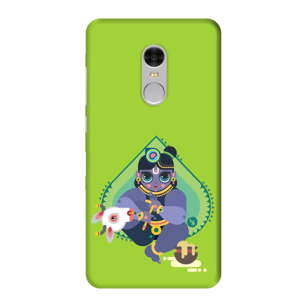 MAKHANCHOR-THE ONE WHO CHARMS Slim Case And Cover For REDMI NOTE 4