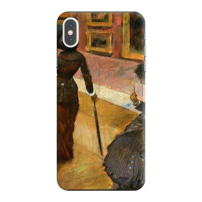 MARY CASSATT AT THE LOUVRE Slim Case And Cover For IPHONE XS MAX