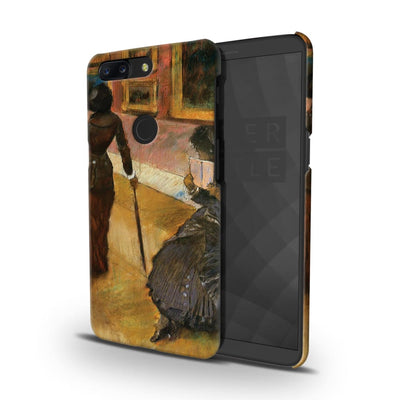 Mary Cassatt At The Louvre Slim Case And Cover For Oneplus 5T