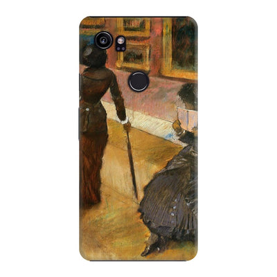 Mary Cassatt At The Louvre Slim Case For Pixel 2 XL