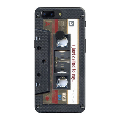 Maxell Vintage Cassette DESIGNER Slim Case And Cover For OnePlus 5T