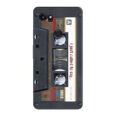 Maxell Vintage Cassette DESIGNER Slim Case And Cover For Pixel 2 XL