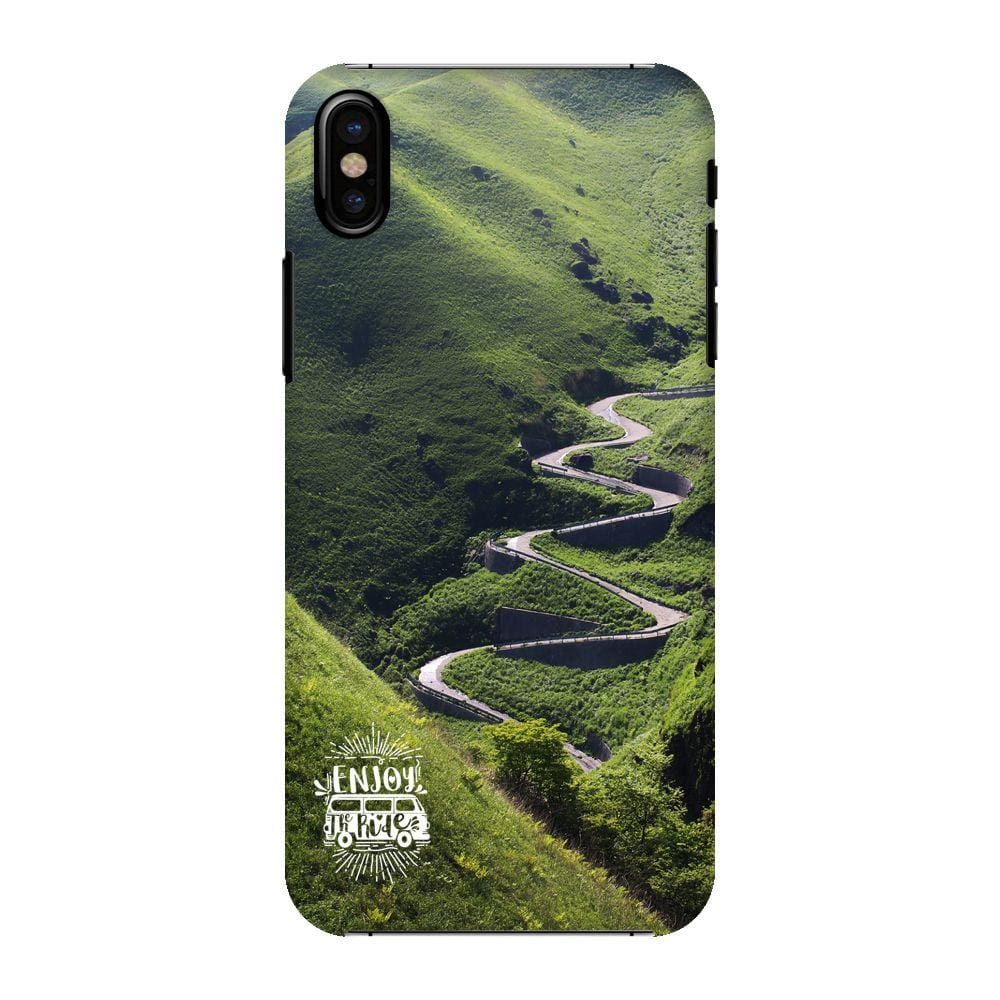 Meandering Roads Slim Case And Cover For iPhone X