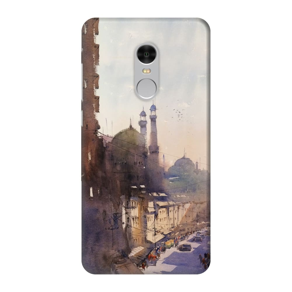 MOSQUES OF KOLKATA Slim Case And Cover For REDMI NOTE 4