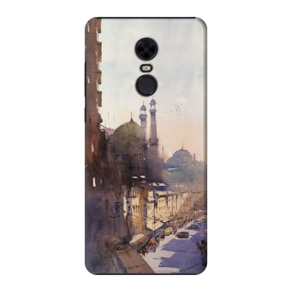 MOSQUES OF KOLKATA Slim Case And Cover For REDMI NOTE 5
