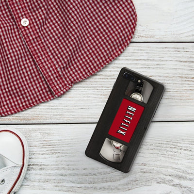 Netflix On VHS Designer Slim Case And Cover For iPhone 7 Plus