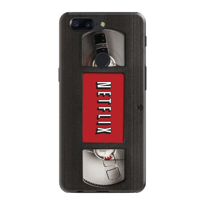 NETFLIX ON VHS DESIGNER Slim Case And Cover For OnePlus 5T