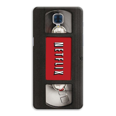 Netflix On VHS Designer Slim Case And Cover For OnePlus Three