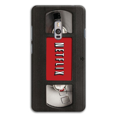 Netflix On VHS Designer Slim Case And Cover For OnePlus Two