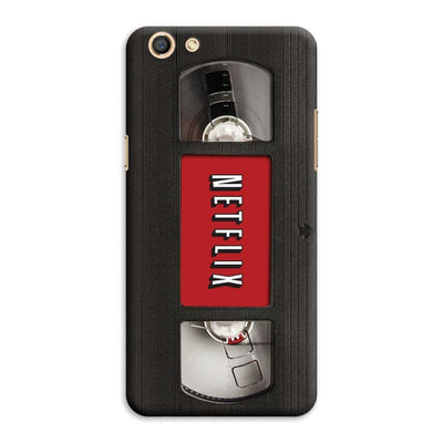 Netflix On VHS Designer Slim Case And Cover For Oppo F3